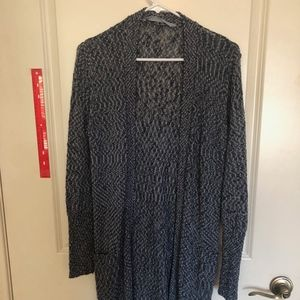 Blue Athlete long duster